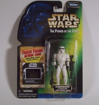 Star Wars POTF2 Stormtrooper Freeze Frame Series By Kenner 1997 - $9.99