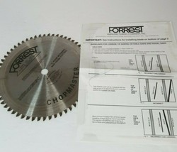 "Forrest Chopmaster Miter and Radial Saw Blades 8 1/4"" - Used - $85.99"