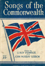Songs of the Commonwealth, Book, W/ East Indian Song, Canada, My Home, e... - $7.85