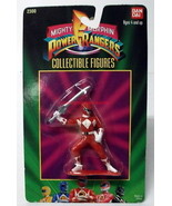"Mighty Morphin Power Rangers~Bandai~2300~Red~Jason~3"" Figure~1993~MIP~ - $14.00"