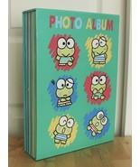 Vtg 1994 Sanrio Kerokerokeroppi Keroppi Green Photo Scrapbook 240 Pocket... - $24.95