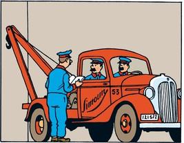 Simoun tow truck - Land of Black Gold Tintin cars Editions Atlas 1/43 image 2