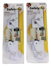 Safety 1st Adhesive Top of the Door Lock with Pinch Guard, 2 Pack - $17.99