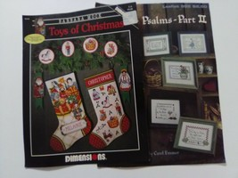 Toys of Christmas/From the Psalms -Part 2 cross stitch leaflets - $5.00
