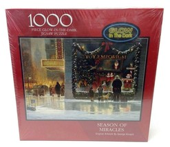 Bits and Pieces Season of Miracles Glow in the Dark 1000 Piece Puzzle - $25.25