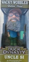 Duck Dynasty Uncle Si Robertson Talking Bobblehead Funko Nib Nip A&E Tv - $18.55