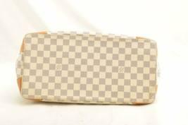 LOUIS VUITTON Damier Azur Hampstead MM Shoulder Tote Bag N51206 LV 10487 JUNK image 9