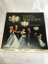 Original JOHANN STRAUSS WALTZES THE VIENNA PHILHARMONIA LP Record Vinyl - £10.26 GBP