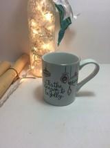 St. Nicholas Square EAT DRINK & BE MERRY 12oz Mug Cup Ornaments Season J... - $9.69