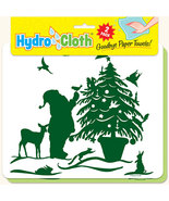 New Paper Towel Alternative Christmas Theme Reusable Washable Hydrocloth... - $15.00