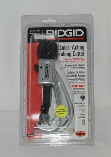 Ridgid 31632 Quick Acting Tubing Cutter Spring Latch Quick Size Adjustment