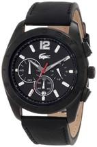 Lacoste Sport Panama Black Dial Men's Watch #2010609 - $167.30