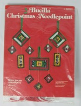 Bucilla Christmas Needlepoint Kit Ornaments Set of 3 #60381 - $21.77