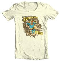 Superman SupermanHombre T-shirt Golden Age DC comics graphic cotton tee SM1397 image 2