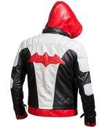 Batman Arkham Knight Red Hood Jason Todd Leather Jacket Cosplay Costume - $59.85+