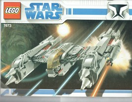 LEGO Star Wars 7673 instruction Booklet Manual ONLY - $5.00
