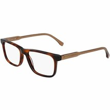 NEW LACOSTE L2852 220 Red Havana Eyeglasses 53mm with Lacoste Case - $89.05