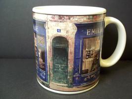 Coffee mug EMILIE Storefronts Chiu Tak Hak Art in Motion Sakura  12 oz - $7.48