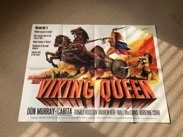 Hammer Films The Viking Queen Original UK Quad Film Movie Poster. - $314.61