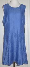 Tommy Hilfiger Blue Dress Size 16 NEW - $35.64