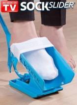 Sock Slider, The Easy on, Easy off Sock Aid Kit & Shoe Horn Pain Free SH... - $8.75