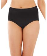 Bali Comfort Revolution Microfiber Brief Panty 803J Black Beige Nude Orchid - $8.50