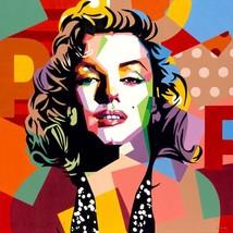 Marilyn Monroe Painting by Gerardo Mendez Patricio - $800.00+