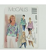 McCall's Pattern 4037 Blouses Size Y  XS S M Pre-owned and unused - $16.74