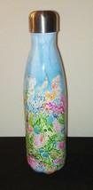 Lilly Pullitzer Mermaid Starbucks Steel Bottle 17 Oz / Travel S'well Hot... - $25.21
