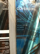 CoverGirl Peacock Flare Mascara Black 0.3 oz (Lot of 3) New - $14.39