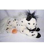 Animal Alley Appaloosa Pony Horse White Black Spots Plush Stuffed Animal... - $23.74