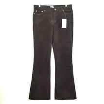 Calvin Klein Junior Women's Corduroy Pants Jeans 11 Brown 34/33 - $24.74