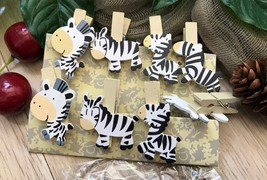 Birthday Decoration Gift Favors,Wooden Clips,Pin Clothespin,Paper wooden Clips - $2.90 - $18.00