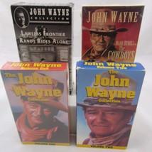 John Wayne VHS Set of 5 The Cowboys Lawless Fro... - $18.49