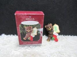 1998 Child's Third Christmas, Hallmark Keepsake Christmas Tree Ornament - $7.95