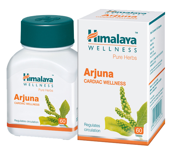 Primary image for  Himalaya Herbals Arjuna 60 Tablets Fight Hypertension Stress & Healthy Heart
