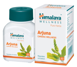 Himalaya Herbals Arjuna 60 Tablets Fight Hypertension Stress & Healthy ... - $10.33+