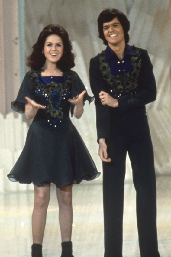 Donny Osmond 1970's on TV Show with Marie Osmond 24x18 Poster - $23.99