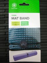 Gaiam Purple Wooden Bead Yoga Mat Band - $9.89