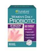NEW trunature Women's Daily Probiotic, 90 Vegetarian Capsules **FREE SHI... - $31.99