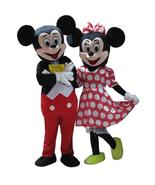 couple mouse mascot costume cosplay for party fancy costume maskot red m... - $135.30+