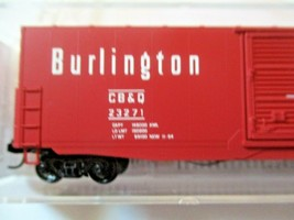 Micro-Trains # 18000210 Chicago Burlington & Quincy 50' Standard Boxcar N-Scale image 2