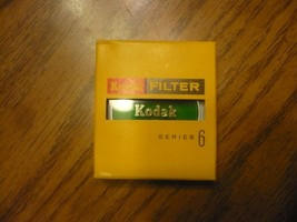 Lot of 5 Kodak Series 6 Wratten X1 No. 11 Green Filter Lens New - $33.69