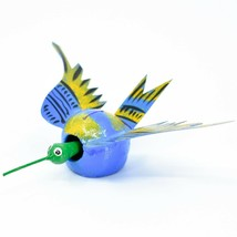 Oaxacan Alebrijes Folk Art Humming Bird Hummingbird Bobble Head Figure image 2