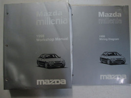 1998 Mazda Millenia Service Repair Shop Workshop Manual Set Oem Factory W Ewd - $128.65