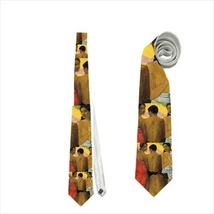 necktie Paul Gauguin Tree Tahitains Graphic classic art gallerist souvenir - $22.00