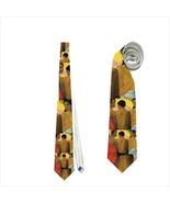 necktie Paul Gauguin Tree Tahitains Graphic classic art gallerist souvenir - $22.00