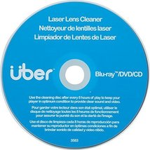 Uber Laser Lens Cleaner, Better Performance for Blu Ray, DVD, CD, PS3, P... - $29.65