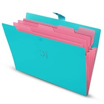 Skydue Expanding File Folders with Pockets, Letter A4 Paper Organizer Folder Acc