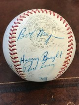 NEW YORK YANKEES 1964 SIGNED REACH TEAM BALL with 10 IDENTIFIABLE AUTOGR... - $318.50